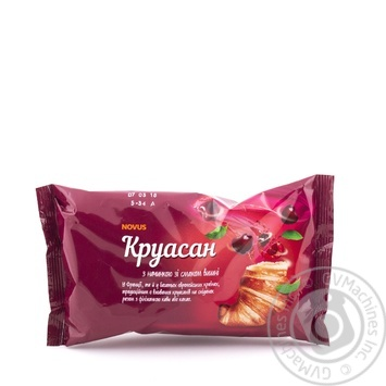 Croissant Novus cherry 65g - buy, prices for Novus - image 1