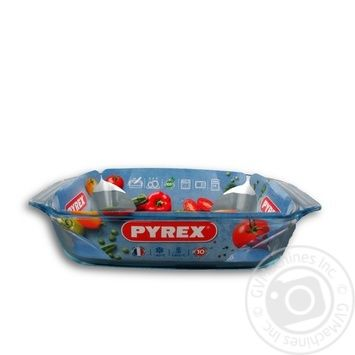 Pyrex Irresistible Baking Dish made of heat-resistant glass - buy, prices for Metro - image 1