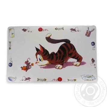 Коврик Trixie под миску для кошек 44см - купить, цены на МегаМаркет - фото 1