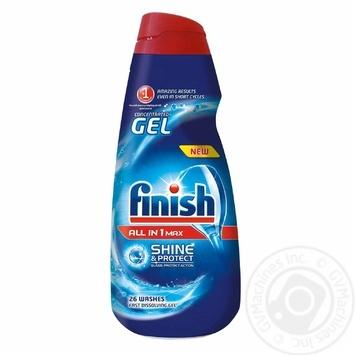 Гель Finish для мытья посуды в посудомоечных машинах 650мл