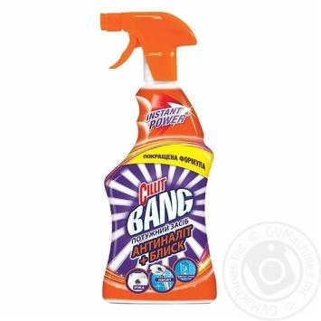Средство Cillit Bang Антиналит + Блеск для очистки поверхностей 750мл - купить, цены на Метро - фото 3