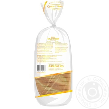 Батон Киевхлеб Изысканный нарезка 450г - купить, цены на Novus - фото 2