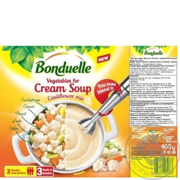 Овочі Bonduelle для крем супу Легкий 400г - купити, ціни на МегаМаркет - фото 2