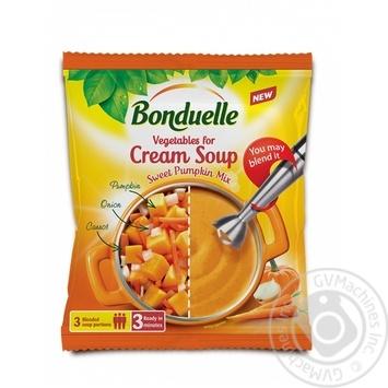 Овощи Bonduelle для крем супа Тыквенный 400г - купить, цены на Novus - фото 1