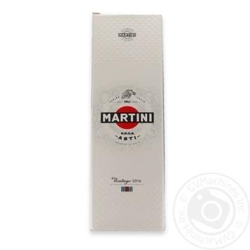 Вино ігристе Martini Asti Vintage Dolce DOCG в кор.7,5% 0,75л