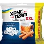 Khrusteam Crisps Do Pinnoho with squid flavor 130g