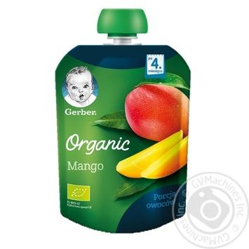 Пюре Gerber органическое манго 90г