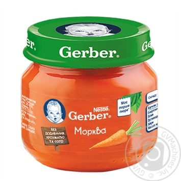 Gerber carrot puree 80g - buy, prices for Novus - image 1