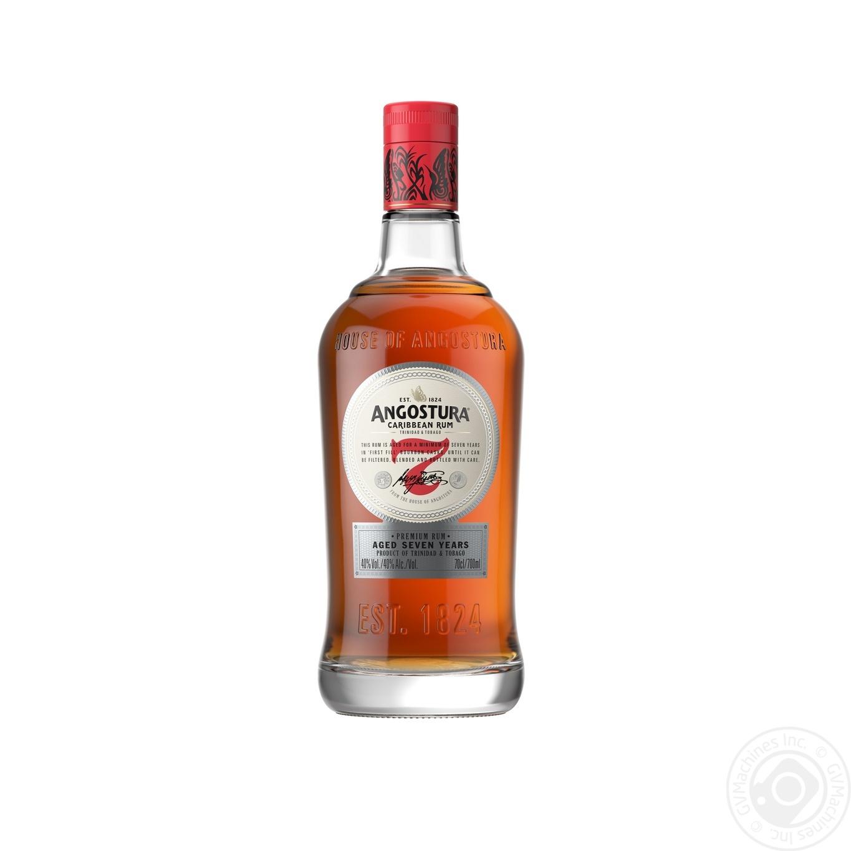 Ром Angostura Caribbean Rum 7 y.o. 0,7л