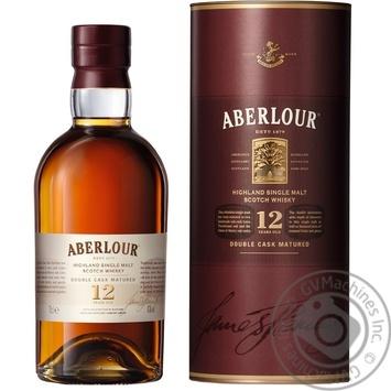 Aberlour 12YO Whisky 700ml gift box - buy, prices for Novus - image 1