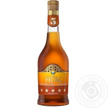 HAYK 5YO Brandy 500ml