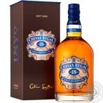 Chivas 18YO Whisky 1l gift box - buy, prices for Novus - image 1