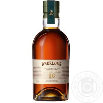 Виски Aberlour 16 лет 40% 0,7л  в тубусе - купить, цены на Novus - фото 3