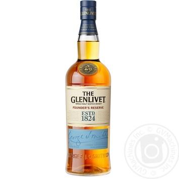 Виски The Glenlivet Founder's Reserve 40% 0,7л в подарочной упаковке - купить, цены на Novus - фото 3