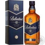 Віскі Ballantine's 12 років 40% 0,7л в подарунковiй упаковцi - купити, ціни на МегаМаркет - фото 2