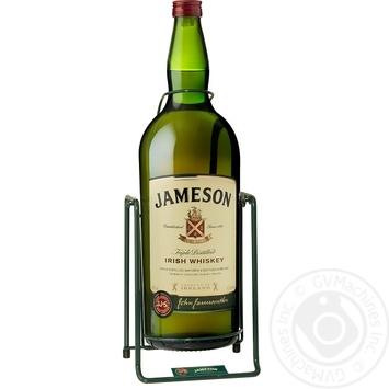 Виски Jameson 40% 4,5л в подарочной упаковке - купить, цены на Ашан - фото 1