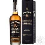 Виски Jameson Black Barrel 40% 0,7л в подарочной упаковке
