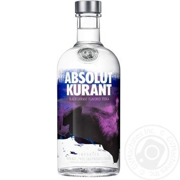 Водка Absolut Kurant 40% 0,7л