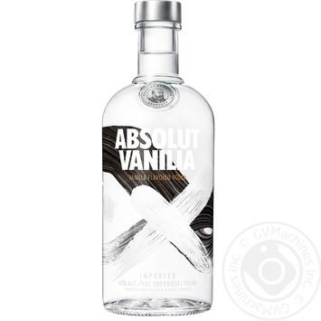 Горілка Absolut Ваніль 40% 0,7л - купити, ціни на Novus - фото 1