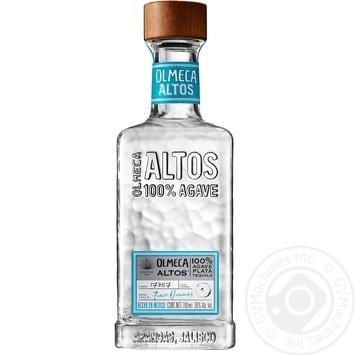 Текила Olmeca Altos 100% Agave Plata 38% 0,7л - купить, цены на Novus - фото 2