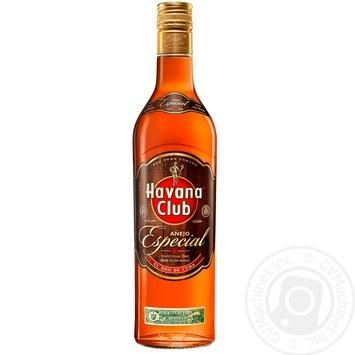Ром Havana Club Anejo Especial 40% 0,7л