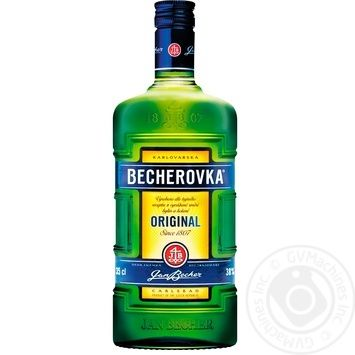 Becherovka Bitter 350ml - buy, prices for MegaMarket - image 1