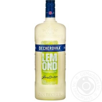 Ликерная настойка на травах Becherovka Lemond 20% 1л - купить, цены на Novus - фото 1