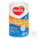 Полотенца бумажные Ruta Selecta Mega roll шт