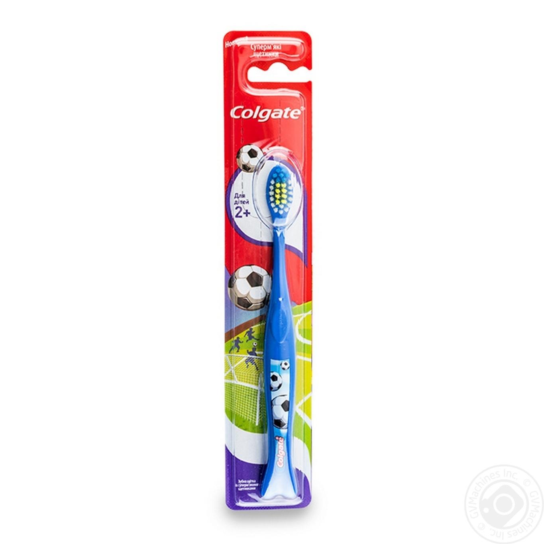 Щітка зубна Colgate суперм яка для дітей від 2-х років 1шт ... bb04eeb4c127f