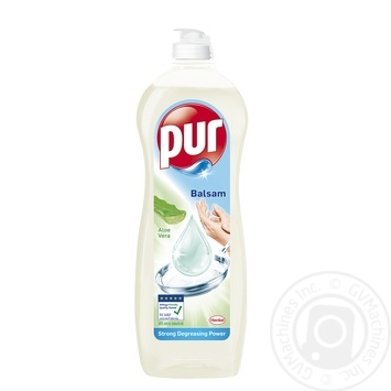 Бальзам Pur для мытья посуды с Алоэ Вера 900 мл