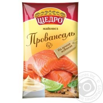 Майонез Щедро Провансаль 67% 190г