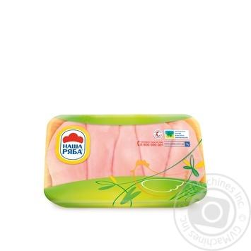 Филе Наша Ряба цыпленка-бройлера охлажденное (упаковка СЕС ~ 900-1100г)