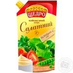 Майонезный соус Щедро Салатный 30% 350г