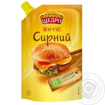 Соус Щедро Сырный 200г - купить, цены на Novus - фото 1