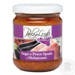 Sauce Paolo licata Auchan tomato 180g glass jar Italy