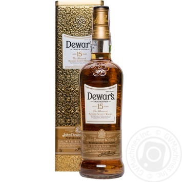 Виски Dewar's 15 лет 40% 0,7л