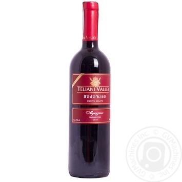 Вино Teliani Valley Мукузани красное сухое 13% 0,75л