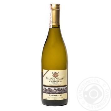 Вино Teliani Valley Цинандали белое сухое 0,75л