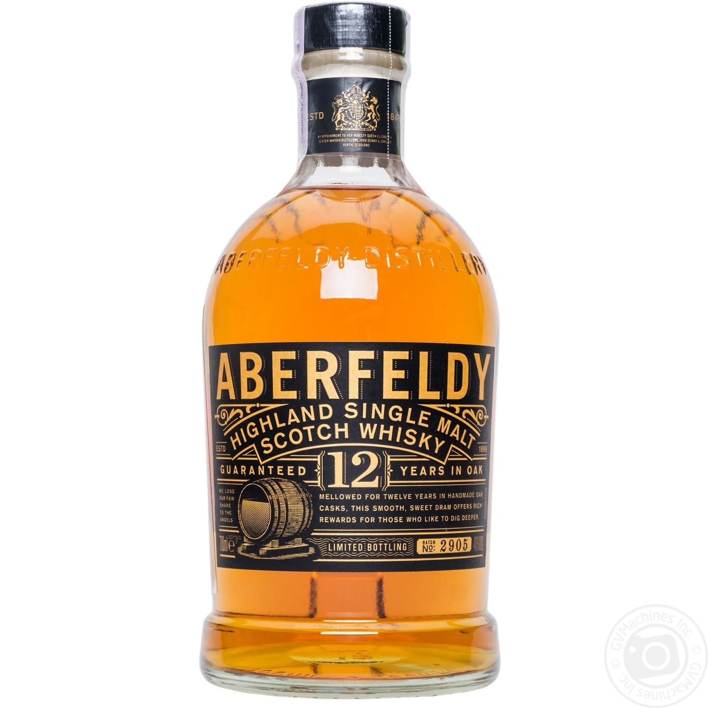 Водка Аберфелди 12 лет