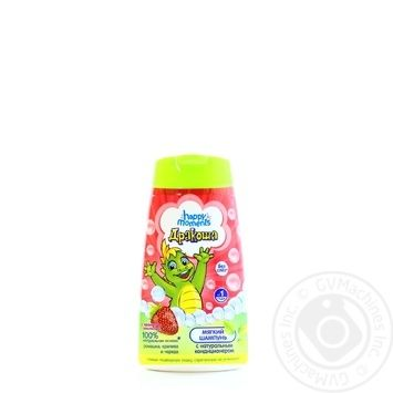 Happy Moments Drakosha Shampoo With Strawberries For Children 240ml - buy, prices for Furshet - image 4
