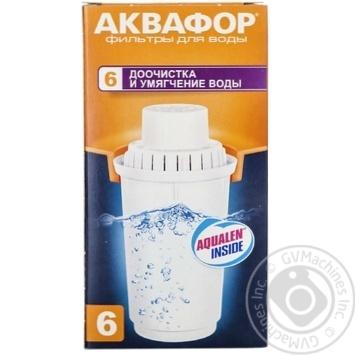 Кассета сменная Аквафор В6 - купить, цены на МегаМаркет - фото 3