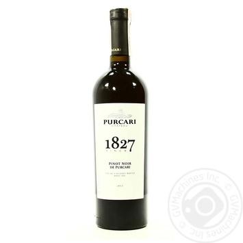 Вино красное Пуркарь Пино Нуар дэ Пуркарь натуральное виноградное марочное качественное выдержанное сухое 13% 750мл - купить, цены на МегаМаркет - фото 4
