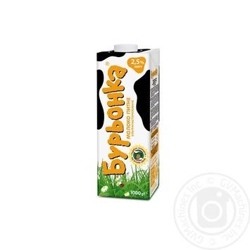 Молоко Бурьонка ультрапастеризоване 2,5% 1000г - купити, ціни на Фуршет - фото 4