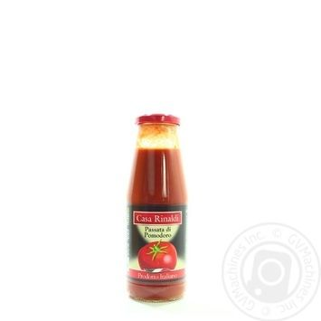 Пюре томатне Casa Rinaldi 690г - купити, ціни на МегаМаркет - фото 1