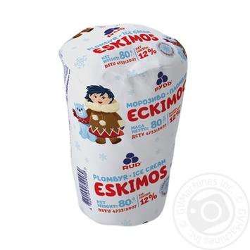 "Скидка на Морозиво ТМ ""Рудь"" ""Ескімос""у вафельному стаканчику 80 г"