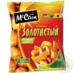 Картопля McCain Золотиста дольки заморожена напівфабрикат 750г