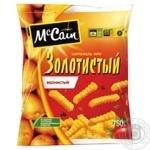 Картофель фри McCaic Золотистая замороженная полуфабрикат 750г