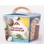 Кекс Цар хлеб Праздничное наслаждение 500г картонная коробка