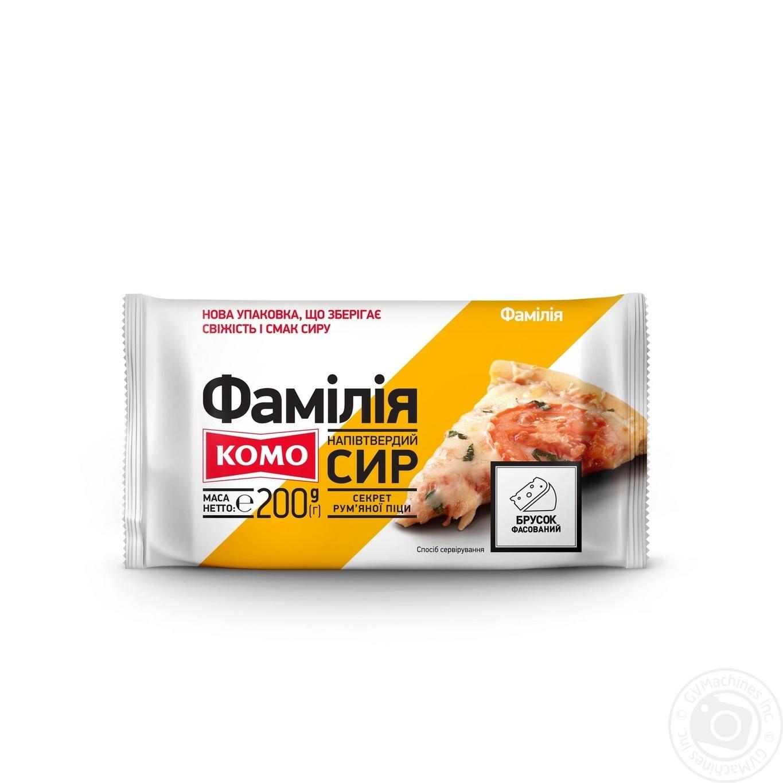 СИР ФАМІЛІЯ 30% 200 ГР. БРУС КОМО → Молочное и яйца → Сыр ... 45306245117