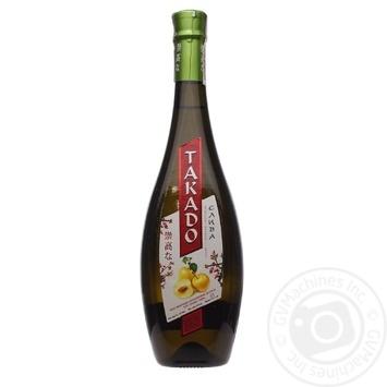 Takado plum liqueur white sweet wine drink 11% 0,7l - buy, prices for Furshet - image 3